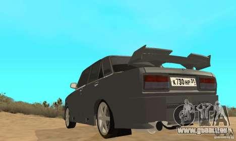 VAZ 2105 Night Hunter für GTA San Andreas Rückansicht