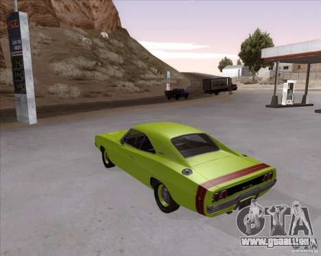 Dodge Charger RT 440 1968 für GTA San Andreas linke Ansicht
