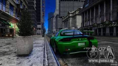 Mazda RX-7 Bushido für GTA 4 hinten links Ansicht