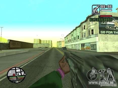 Erste Person (First-Person-mod) für GTA San Andreas siebten Screenshot