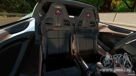 Lotus Exige S 2012 für GTA 4 Innenansicht