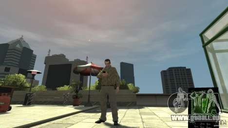Ganja PhoneCell Theme v2 für GTA 4 Sekunden Bildschirm