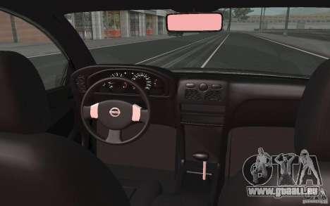 Nissan Almera Classic pour GTA San Andreas vue de côté