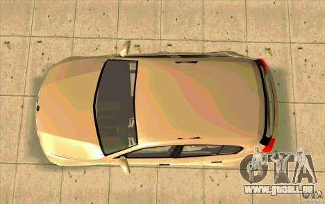 BMW 118i pour GTA San Andreas vue de droite