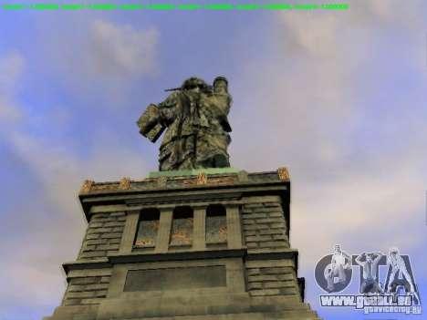 Statue de la liberté 2013 pour GTA San Andreas septième écran