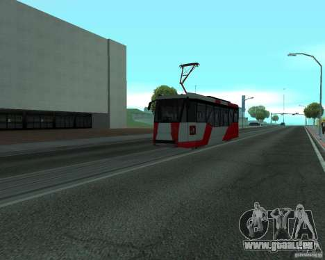 LM-2008 pour GTA San Andreas vue de droite