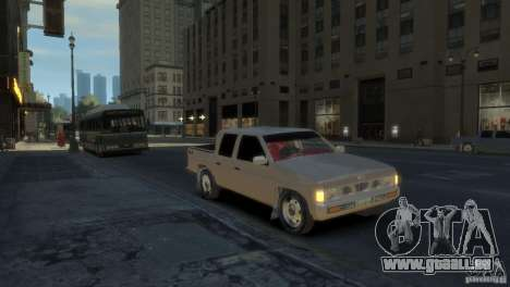 Nissan Pick-Up 1997 für GTA 4 linke Ansicht