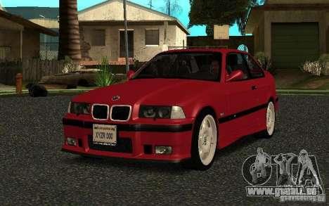 BMW E36 M3 1997 Coupe Forza pour GTA San Andreas
