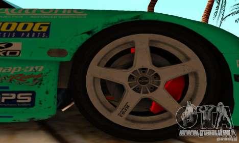 Mazda RX7 Falken edition pour GTA San Andreas vue intérieure