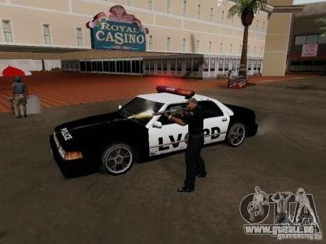 Sunrise Police LV für GTA San Andreas rechten Ansicht