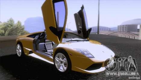 Lamborghini Murcielago LP640 2006 V1.0 pour GTA San Andreas vue de côté
