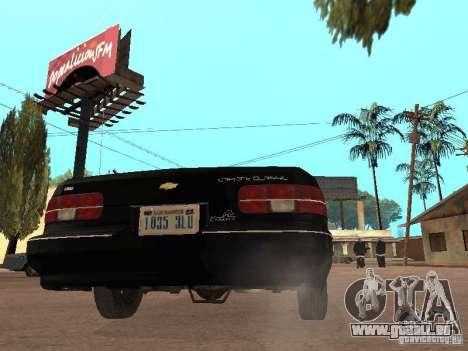 Chevrolet Caprice 1991 LSPD pour GTA San Andreas vue de droite