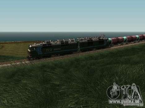Vl80s-2532 pour GTA San Andreas vue arrière