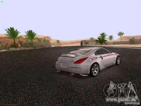 Nissan 350Z Nismo S-Tune für GTA San Andreas rechten Ansicht