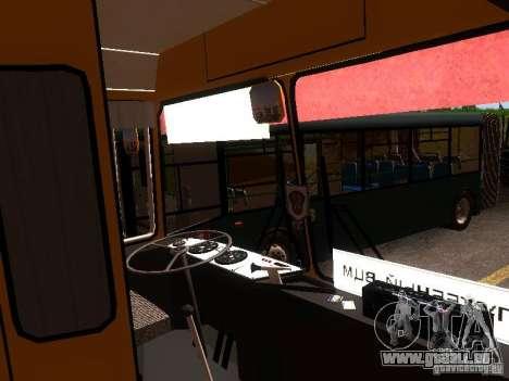 LAZ-4202 pour GTA San Andreas vue de dessus