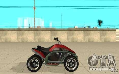 Powerquad_by-peau 2-MF Woofi pour GTA San Andreas laissé vue