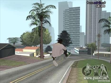 Nouvelle peau Suite pour GTA San Andreas troisième écran