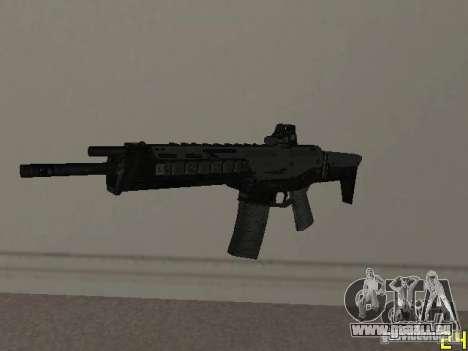 Armes de la COD MW 2 pour GTA San Andreas quatrième écran
