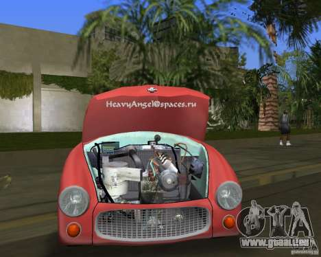 FSO Syrena pour une vue GTA Vice City de la droite