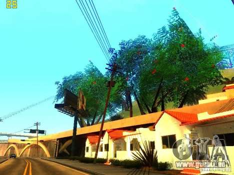 Végétation parfaite c. 2 pour GTA San Andreas cinquième écran