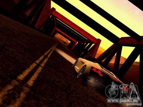 Audi R8 5.2 FSI Spider pour GTA San Andreas vue intérieure