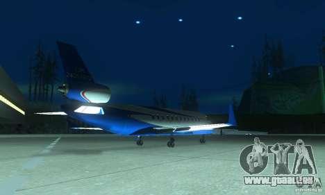 Blue Ghawar pour GTA San Andreas laissé vue