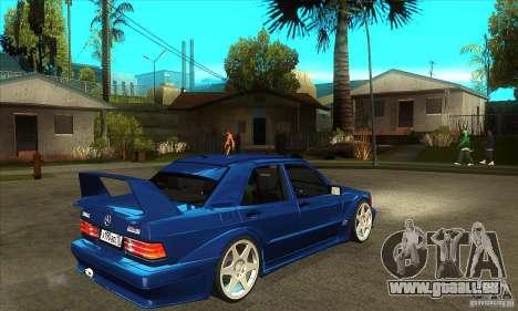 Mercedes-Benz w201 190 2.5-16 Evolution II für GTA San Andreas rechten Ansicht