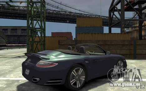 Porsche 911 Cabriolet 2010 pour GTA 4 est un droit