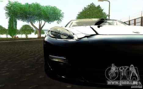Porsche Panamera Turbo pour GTA San Andreas vue de droite