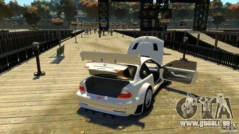 BMW E46 M3 GTR Sport pour GTA 4 est un côté