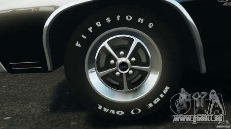 Chevrolet Chevelle SS 1970 v1.0 pour GTA 4 est une vue de dessous