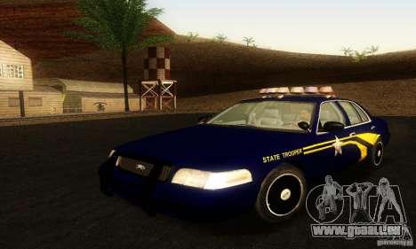 Ford Crown Victoria Orgeon Police für GTA San Andreas
