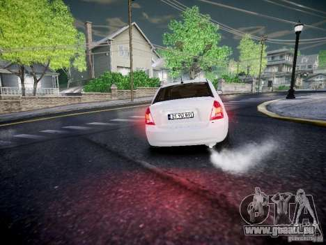 Hyundai Accent Era für GTA 4 Rückansicht