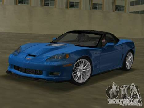 Chevrolet Corvette ZR1 für GTA Vice City