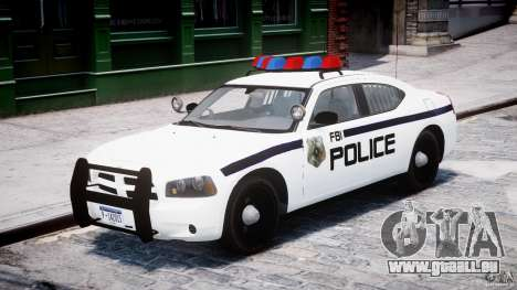 Dodge Charger FBI Police für GTA 4 linke Ansicht
