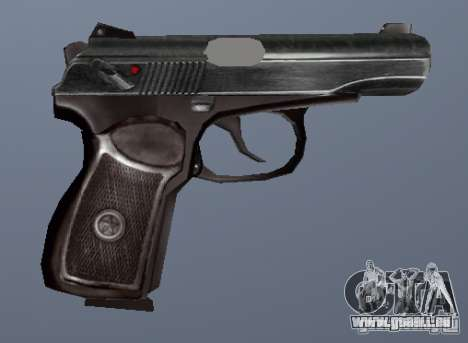 Pistolet Makarov pour GTA San Andreas