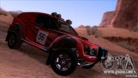 Range Rover Bowler Nemesis für GTA San Andreas rechten Ansicht