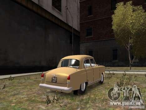 GAZ-21r pour GTA 4 Vue arrière