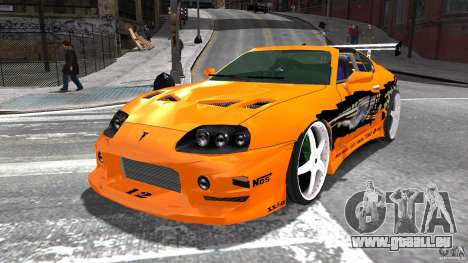 Toyota Supra Fast And Furious pour GTA 4
