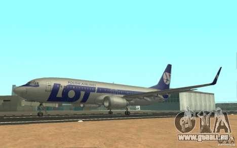 Boeing 737 LOT Polish Airlines für GTA San Andreas