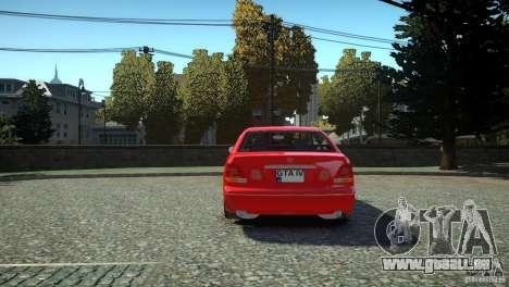 Toyota Aristo für GTA 4 hinten links Ansicht
