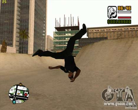 39 animations du jeu Assassin's Creed pour GTA San Andreas