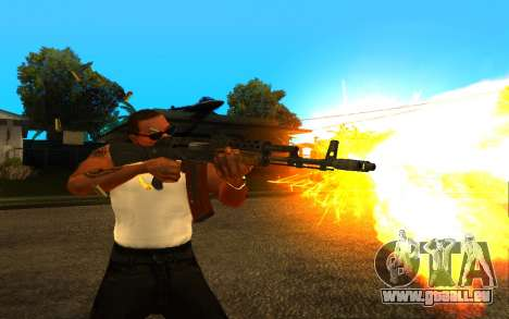 Metro Last Light AK 47 für GTA San Andreas