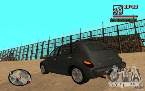 Chrysler PT Cruiser pour GTA San Andreas laissé vue