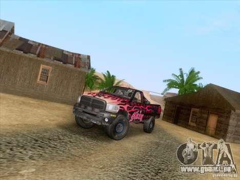 Dodge Ram Trophy Truck pour GTA San Andreas vue de côté