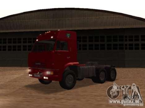 KAMAZ 6460 pour GTA San Andreas vue arrière