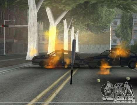 Pak intérieur armes version 6 pour GTA San Andreas troisième écran