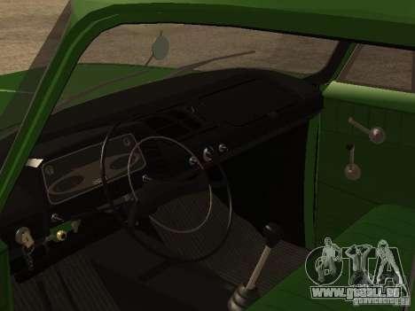 Première version IZH 2715 pour GTA San Andreas vue arrière