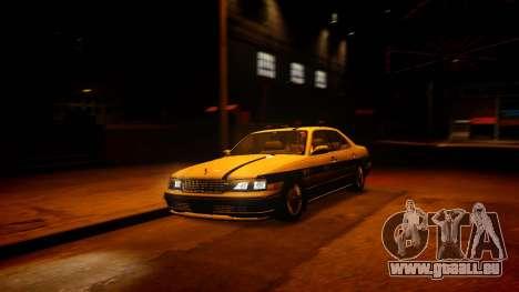 Nissan Cedric Y33 Privately Taxi für GTA 4 linke Ansicht