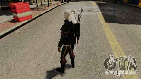 Geralt de Rivia v3 pour GTA 4 quatrième écran